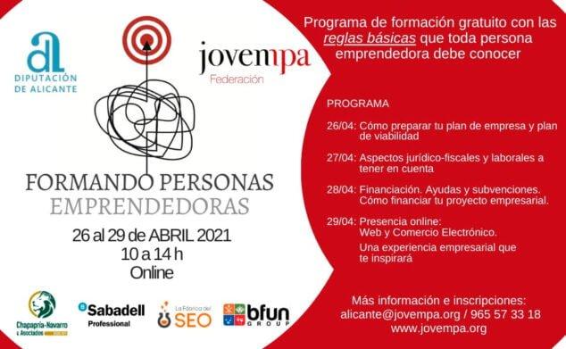 Imagen: Formación gratis para Emprendedores en Teulada-Moraira