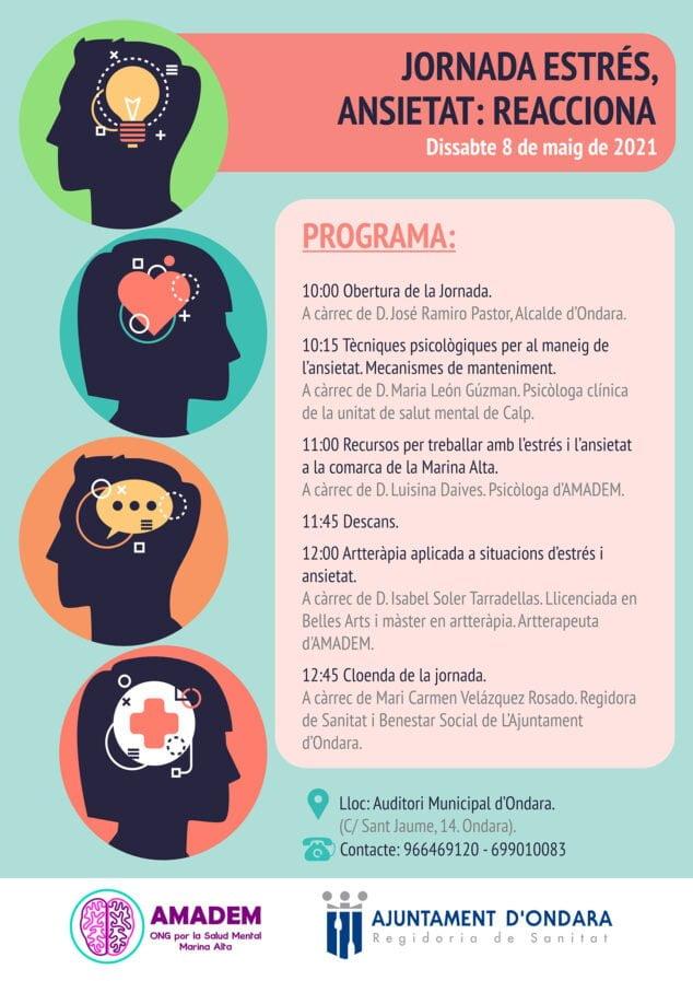 Imagen: Jornadas Salud Mental - Ondara