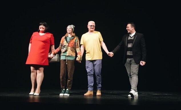 Imagen: Jovi Seser en el teatro