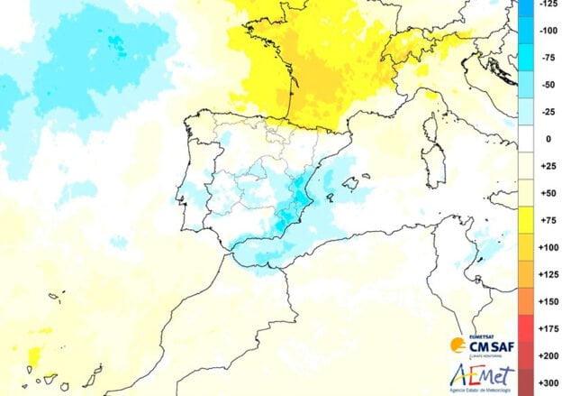 Imagen: La Comunitat Valenciana registra menos horas de sol en abril 2021