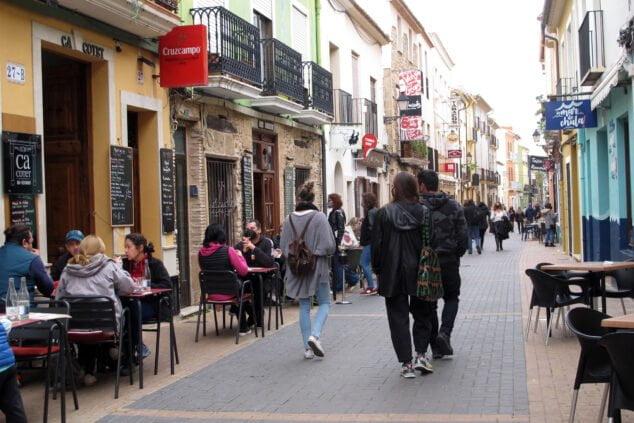 Imagen: Terrazas Calle Loreto - Dénia