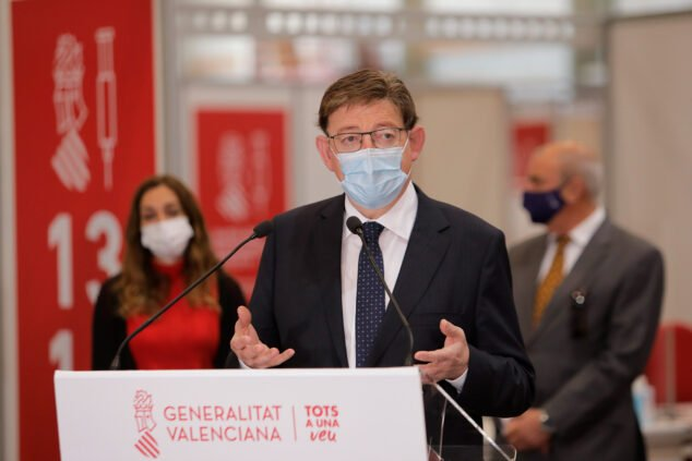 Imagen: Ximo Puig - President Generalitat Valenciana
