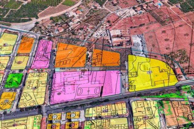 Imagen: Zona unificación escolar Ondara
