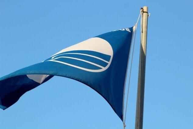 Imagen: Bandera azul de Punta El Raset