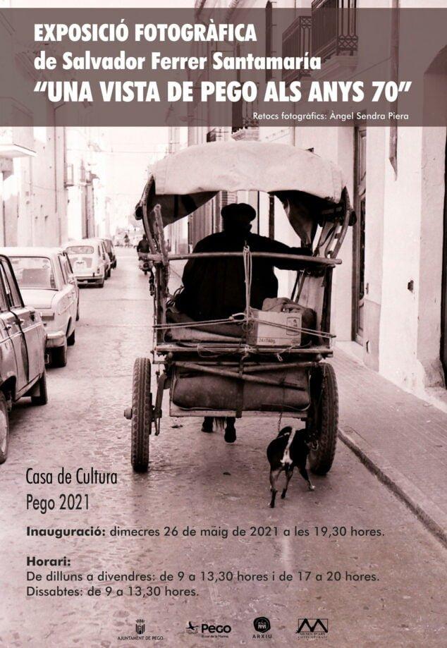 Imagen: Exposición fotográfica Pego Años 70
