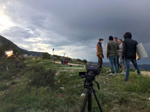 Imagen: Grabacion Pacific Films en la Marina Alta