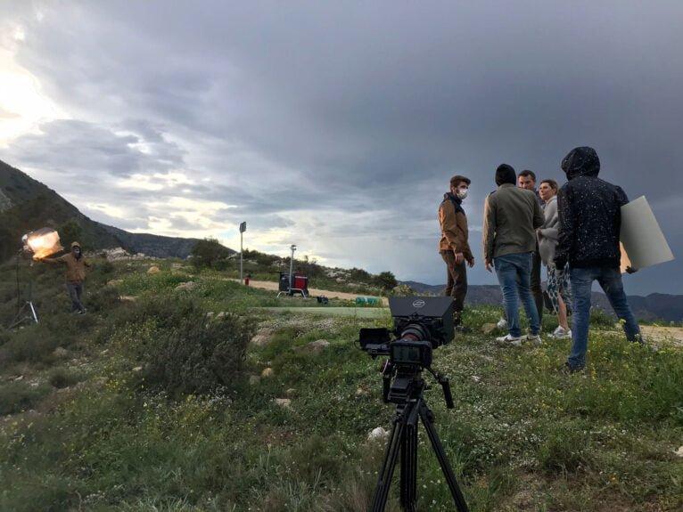 Grabacion Pacific Films en la Marina Alta