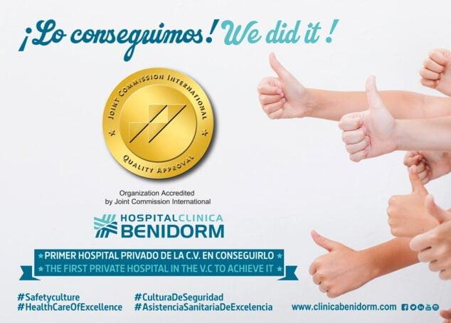 Imagen: HCB consigue la mayor acreditación internacional