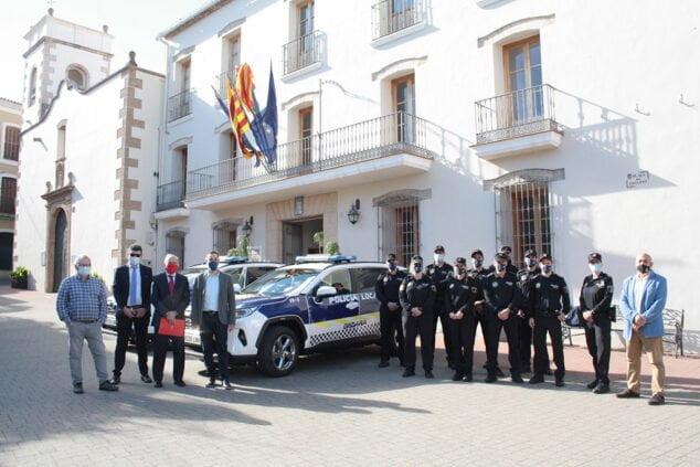 Imagen: Nuevos coches Policía Local Ondara