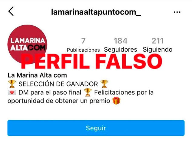 Imagen: perfil-falso-instagram-marina-alta