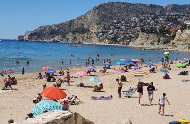 Imagen: Playa de Calp. Imagen: Adrián Rabanal