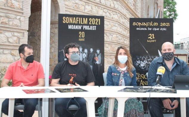 Imagen: Imagen tomada durante la presentación de la tercera edición de Sonafilm