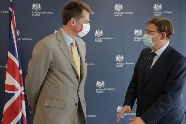 Imagen: reunion-ximo-puig-con-el-embajador-britanico