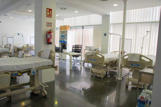 Imagen: Sala Urgencias del Hospital de Dénia