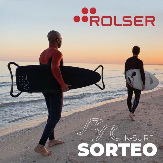Imagen: Sorteo de una tabla de planchar K-Surf de Rolser