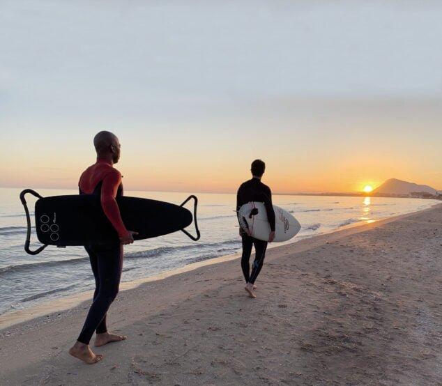 Imagen: Tabla de planchar K-Surf de Rolser