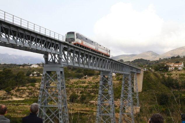 Imagen: Obras Tram Dénia-Calp