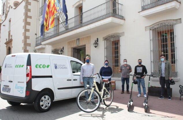 Imagen: Vehículos eléctricos Ayuntamiento Ondara