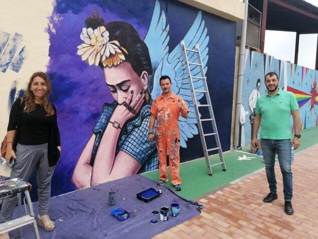 Imagen: Arte urbano en Ondara