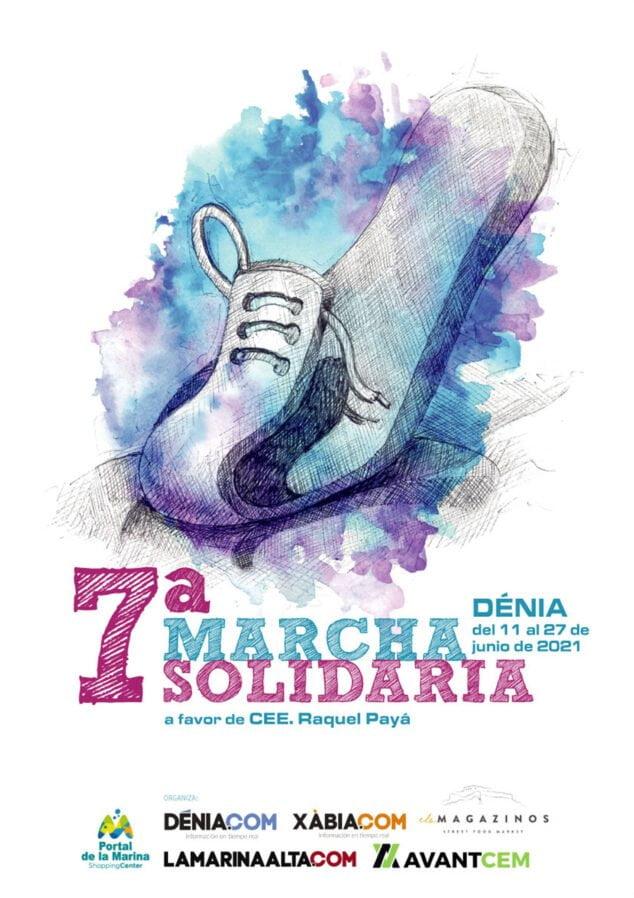 Imagen: Cartel de la 7ª Marcha Solidaria