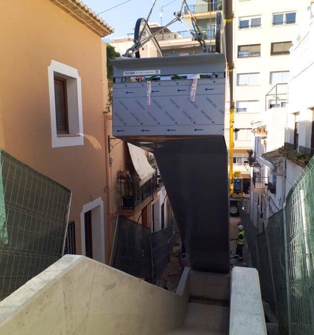 Imagen: Escaleras mecánicas Calp