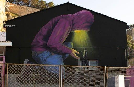 Imagen: Graffiti en Dénia