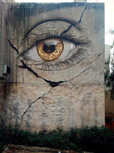 Imagen: Mural en Ondara