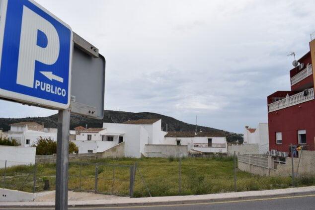 Imagen: Nuevo parking público en Benitatxell