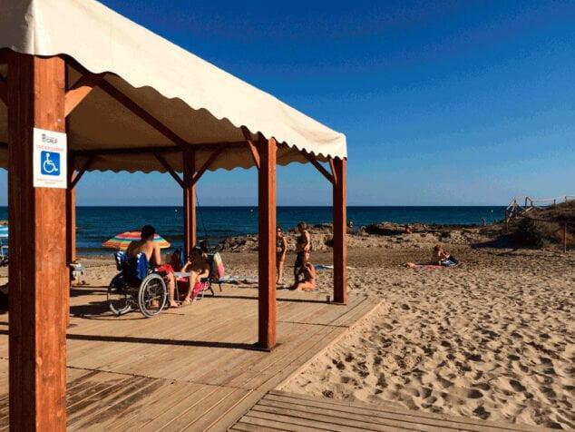 Imagen: Playa adaptada Calp