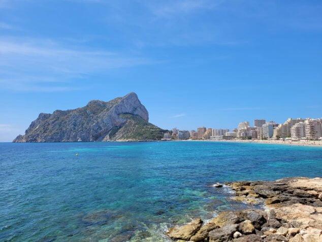 Imagen: Playa la Fossa Calp
