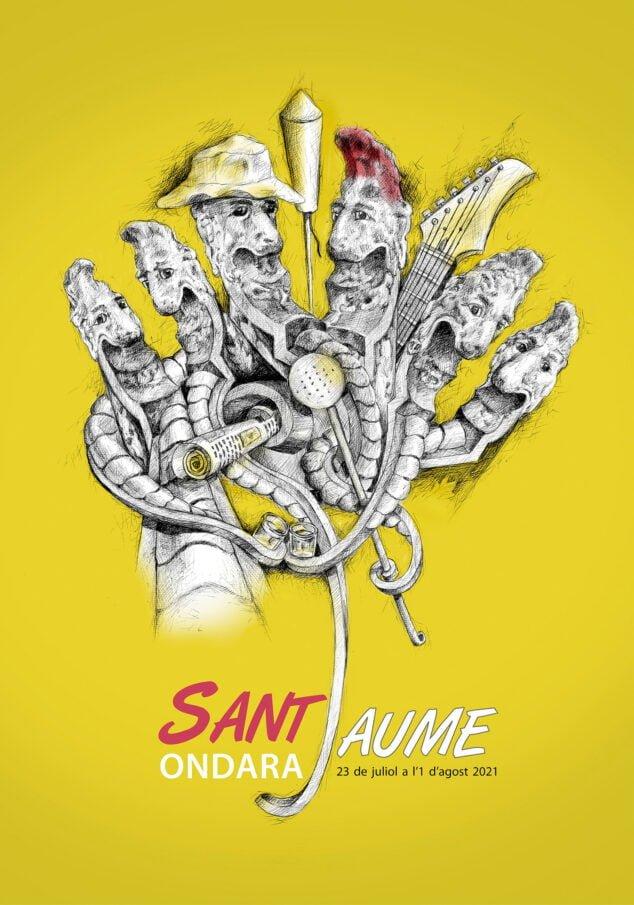 Imagen: portada-llibre-de-festes-sant-jaume-ondara-2021