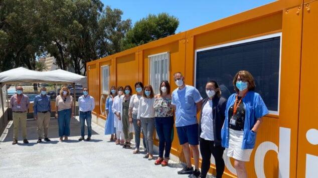 Imagen: Reabre el consultorio de la Playa de la Fossa de Calp