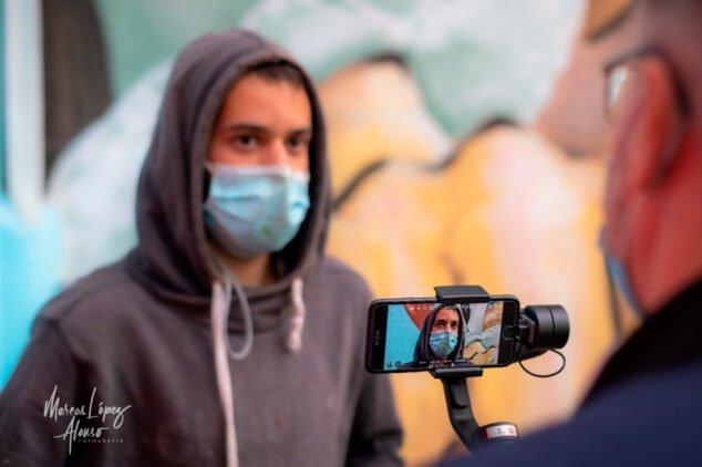 Imagen: Tardor Roselló, artista del Graffiti