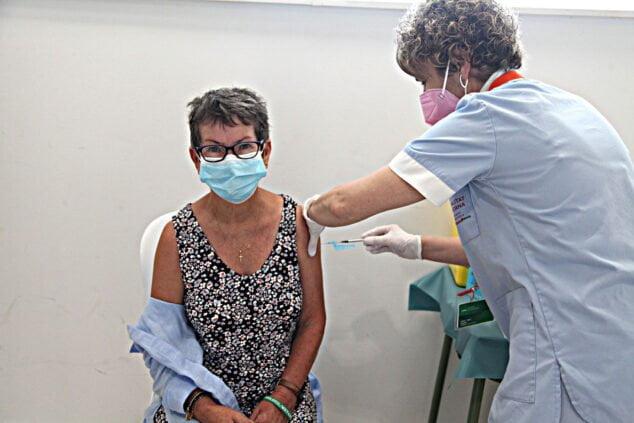 Imagen: Vacunación masiva en la Marina Alta