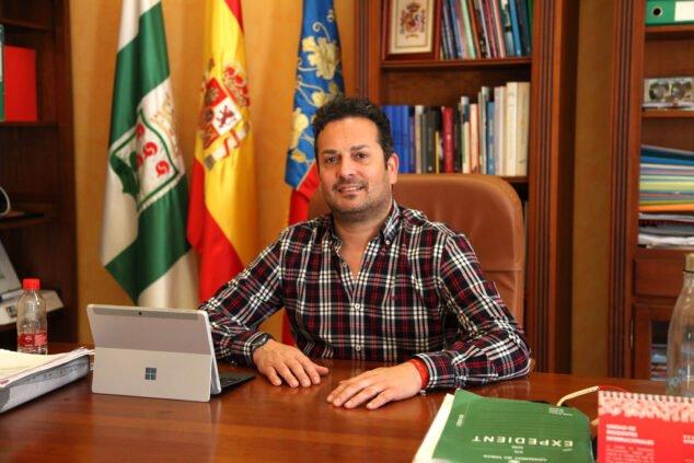 Imagen: Ximo Coll, alcalde El Verger