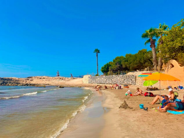 Imagen: Arreglos Muro playa de l'Ampolla - Teulada-Moraira