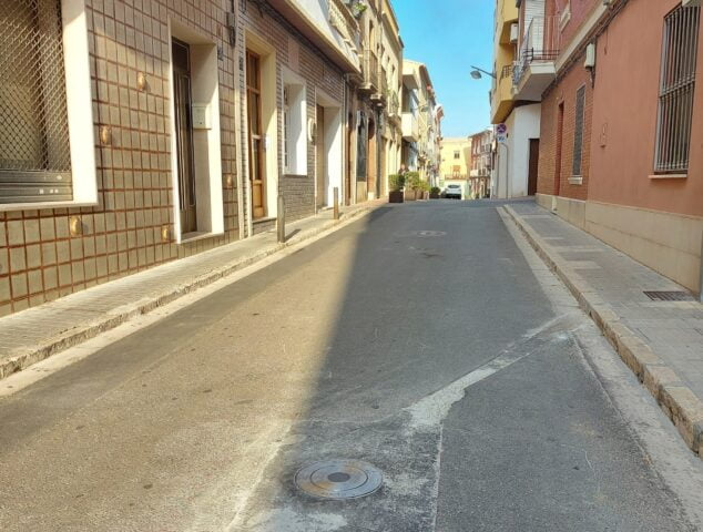 Imagen: Calle Roser del casco histórico de Ondara