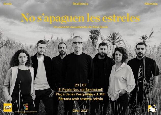 Imagen: Concierto de Xavi Sarrià en Benitatxell