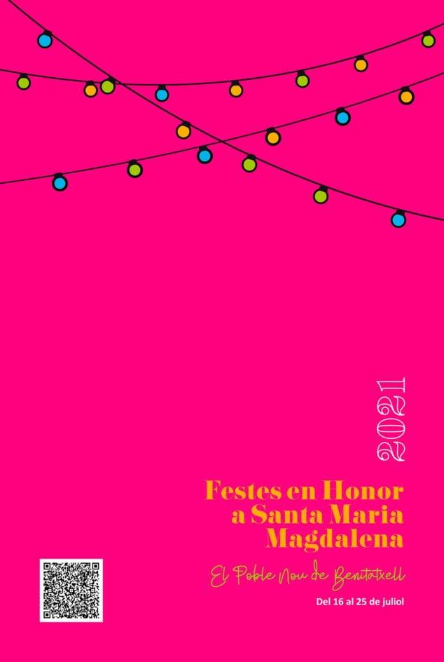 Imagen: Fiestas Patronales Santa María Magdalena Benitatxell 2021