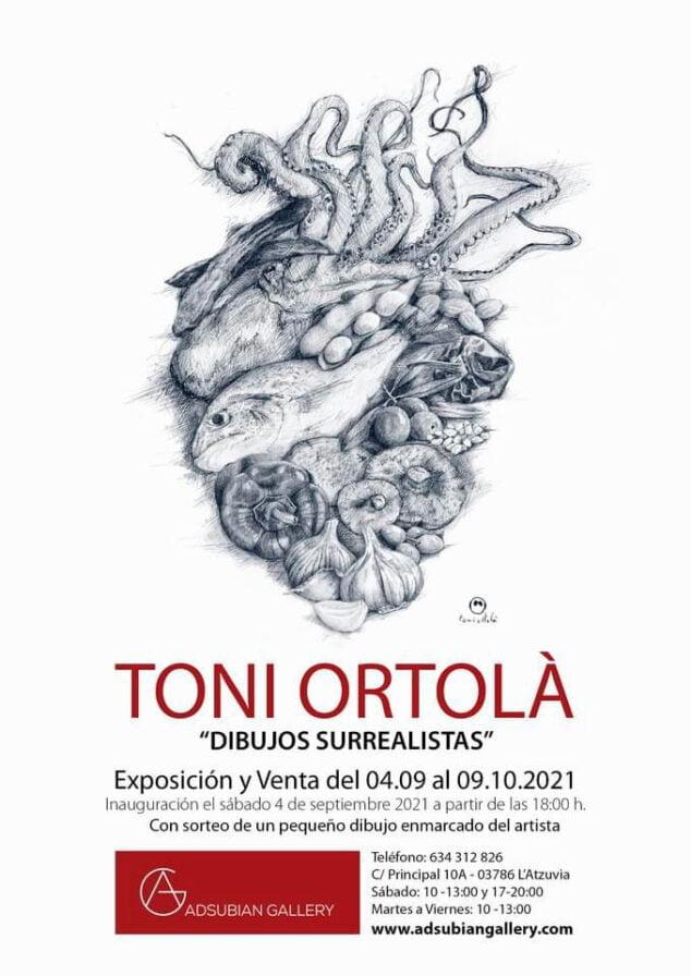 Imagen: Exposicion-Toni-Ortola-Dibujos-Surrealistas