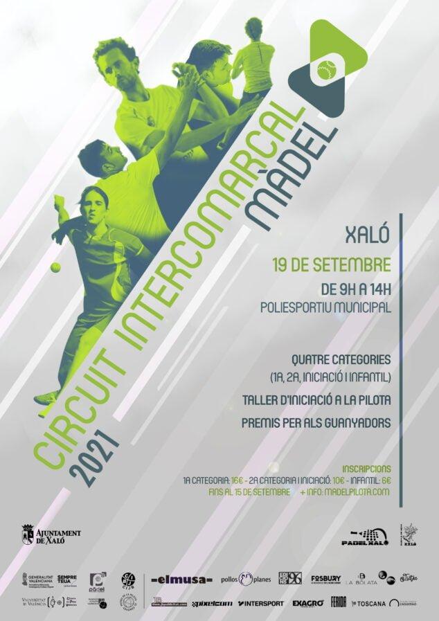 Imagen: Cartel del Torneo de Màdel en Xaló