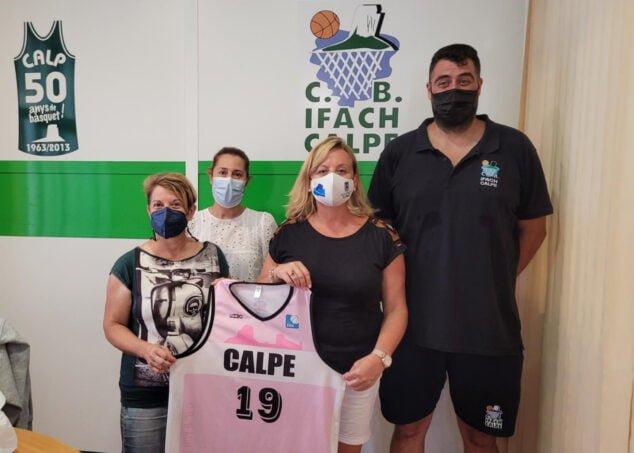 Imagen: Nuevo equipo femenino del CB Ifach-Calpe