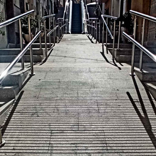 Imagen: Pintadas en la calle Vicente Pastor de Calp